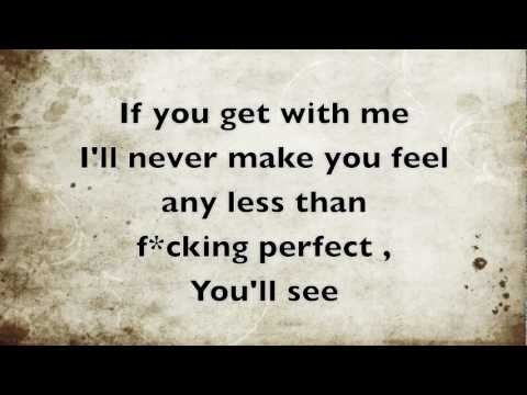 Fucking Perfect - Travis Garland ( Lyrics )