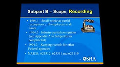 OSHA's Record Keeping Rules - What You Need to Know
