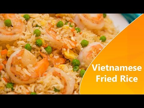 How To Cook Vietnamese Fried Rice | New Cooking Trick 2018