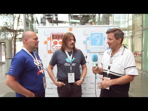 Jacob Aae Mikkelsen, Kevin Wittek and Paul King - GR8Conf 2017 (interview by Autentia)