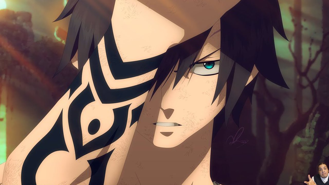 Girl Wallpaper Face Tattoo Fairy Tail 407 Manga Chapter フェアリーテイル Review Gray Vs