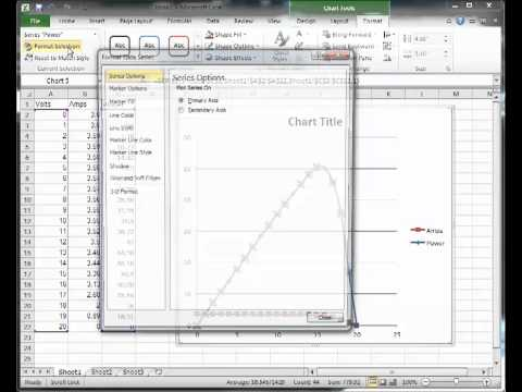 IV Curves in Excel