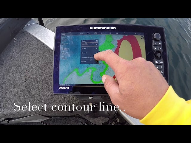 Humminbird Solix - Follow the Contour
