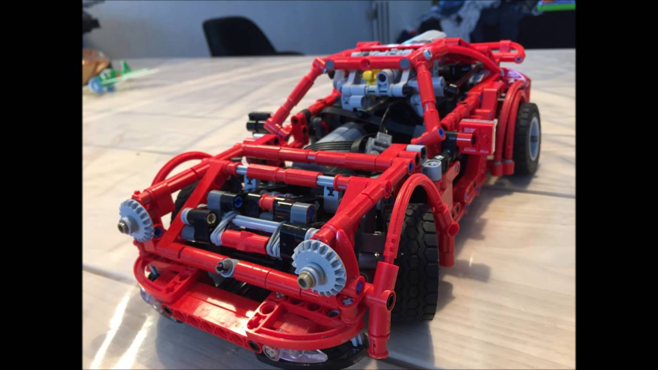 Lego Technic Porsche 911 1976 Youtube