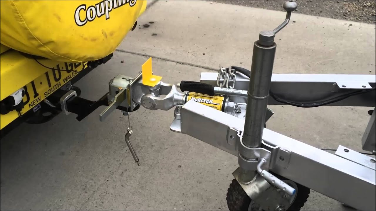 Mchitch Auto Coupler The World S Fastest Trailer Hitch