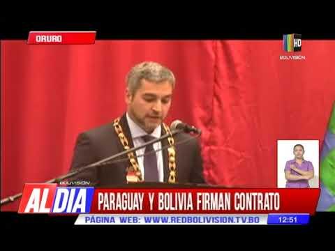 Paraguay y Bolivia firman contrato