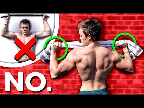 We Tried To Do Pull Ups WITHOUT A Pull Up Bar (it Works) | No Pull Up Bar Needed