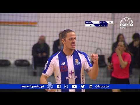 Andebol: Águas Santas-FC Porto, 25-28 (Andebol 1, fase final, 2.ª jornada, 27/03/2019)