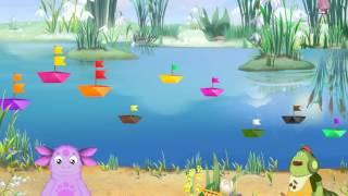 Обучающийй мультфильм для детей Лунтик:Кораблики.Развивающий мультфильм для детей.