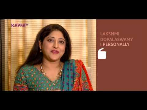 I Personally - Lakshmi Gopalaswamy - Part 2 - Kappa TV