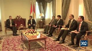 US Ambassador to Iraq meets with Kurdistan Region PM Masrour Barzani Video