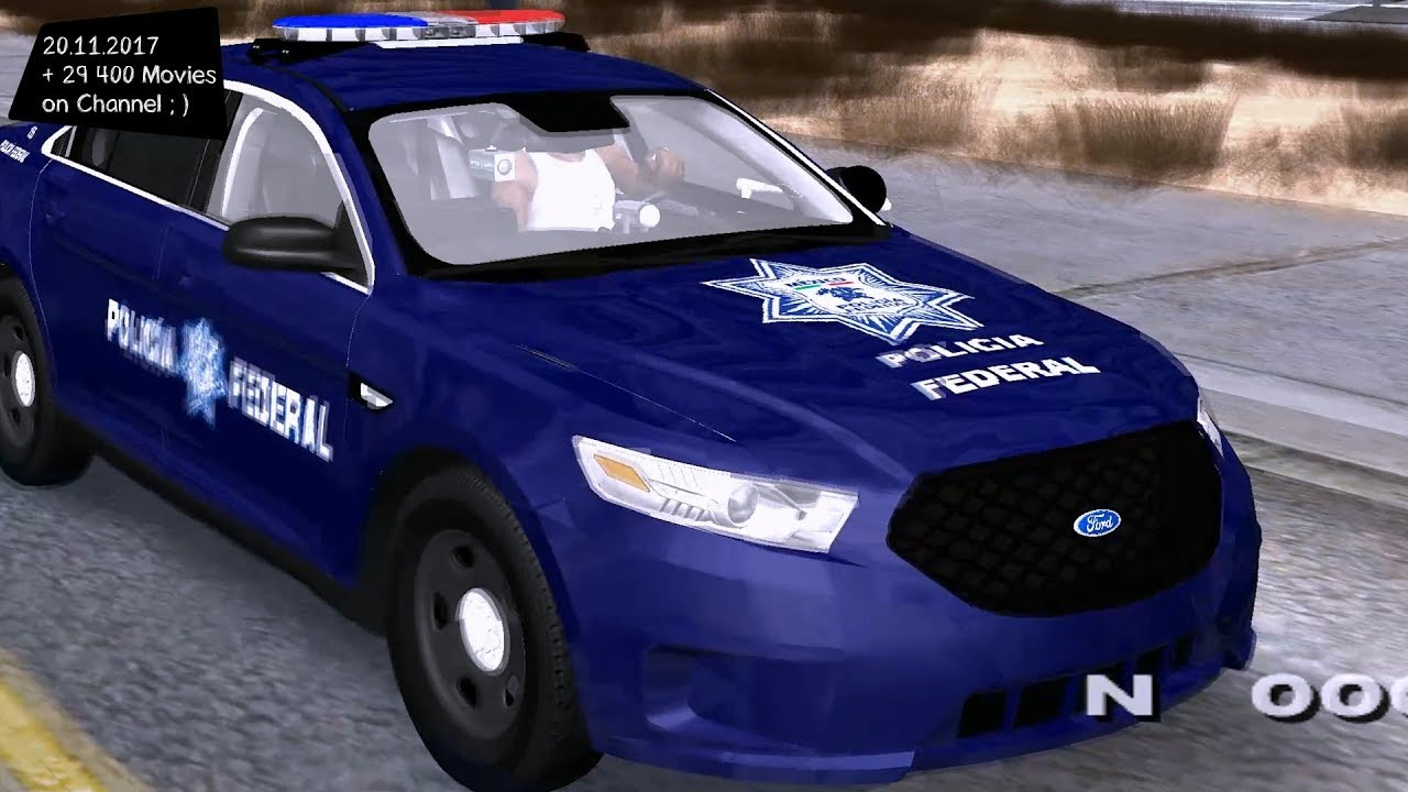 2013 Ford Taurus \'\'Policia Federal\'\' Grand Theft Auto San Andreas ...