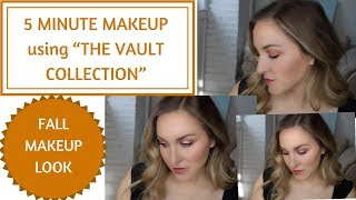 5 MINUTE FALL MAKEUP LOOK FOR DAYTIME
