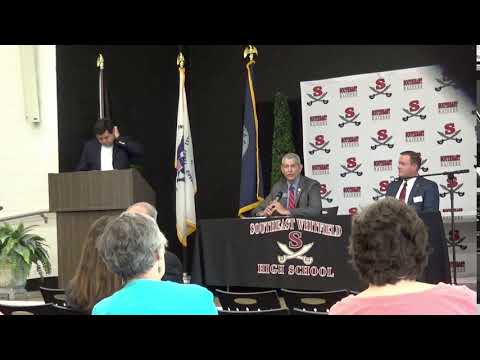 Chuck Payne calling opponent loser at forum 4-24-18