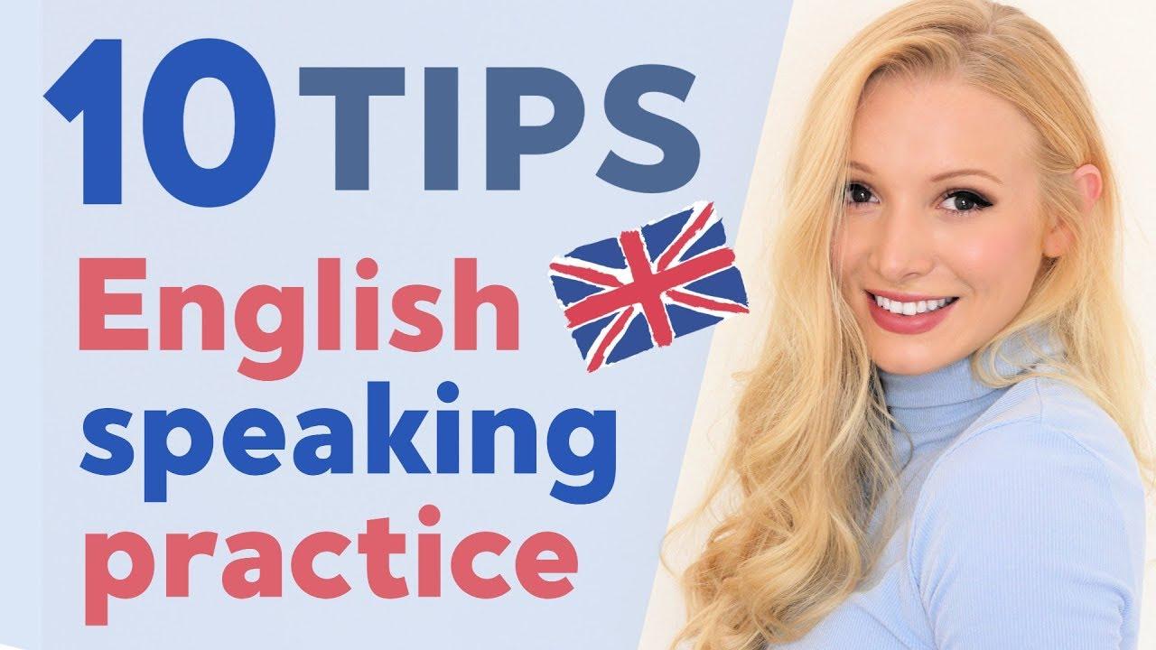 10 English speaking practice tips - YouTube
