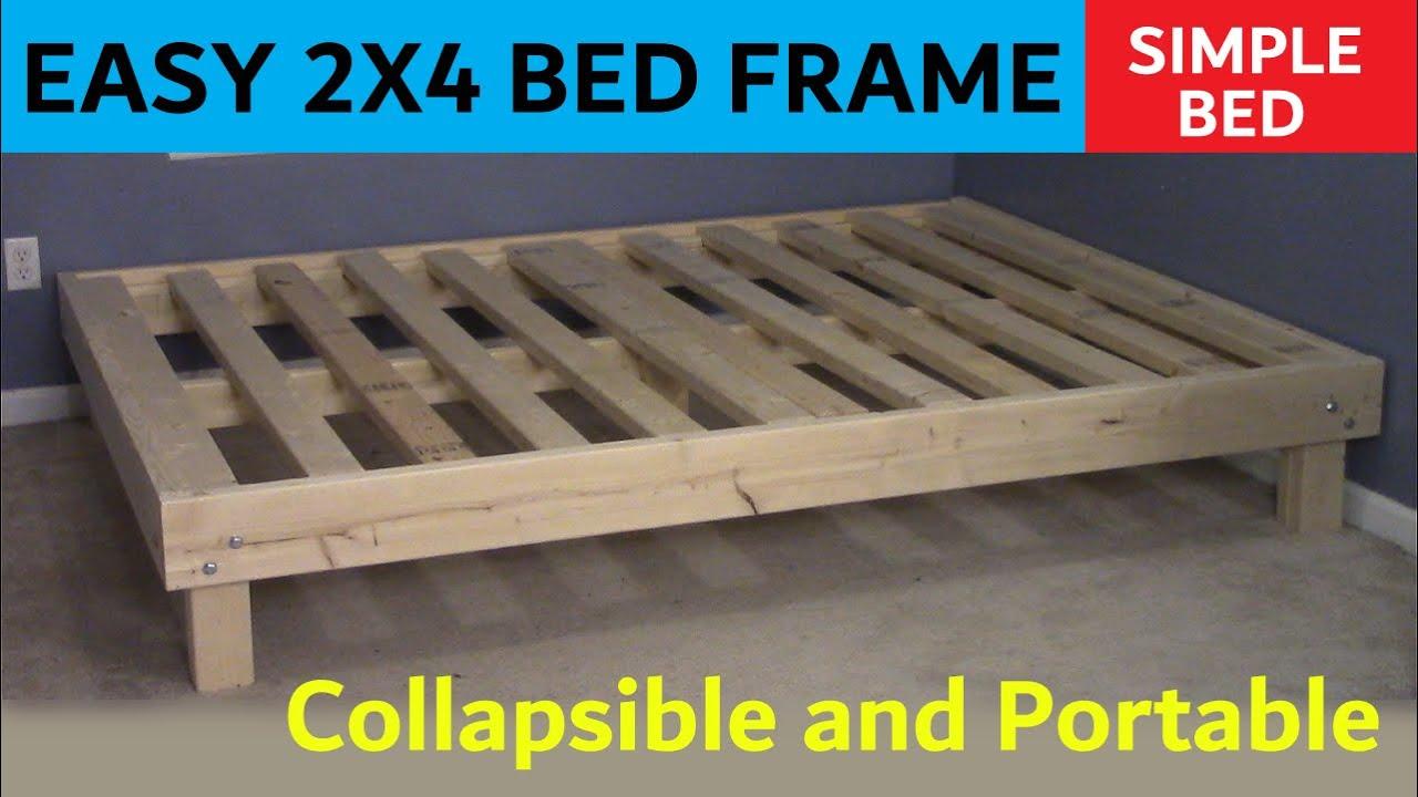 20x20 Queen Bed   Cheap, Easy, Portable