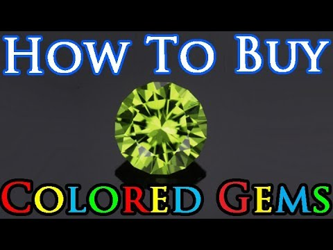 How To Buy Gemstones: The 4 C's