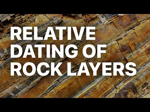 relative dating which rock layer formed first answers