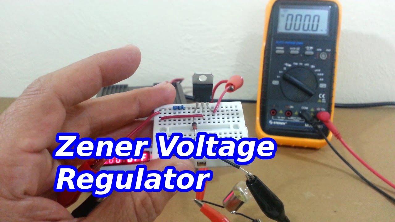 Zener Controlled Transistor Voltage Regulators