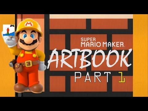 Super Mario Maker Art book: First 20 Pages