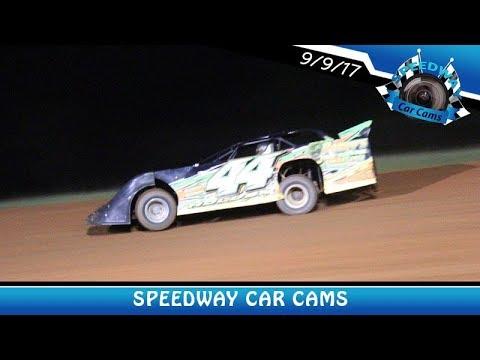 #44 Randy Holder - Sportsman - 9-9-17 Fort Payne Motor Speedway - In Car Camera