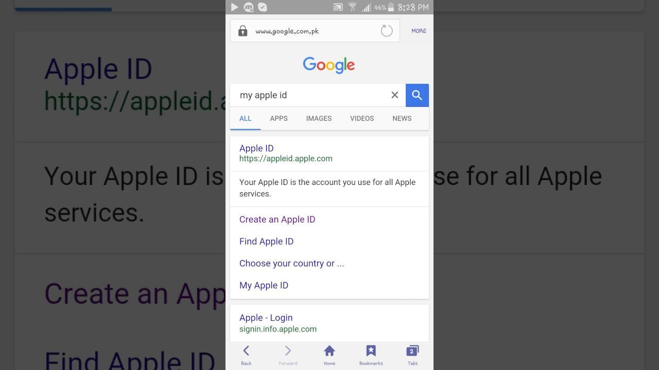 apple id sign up