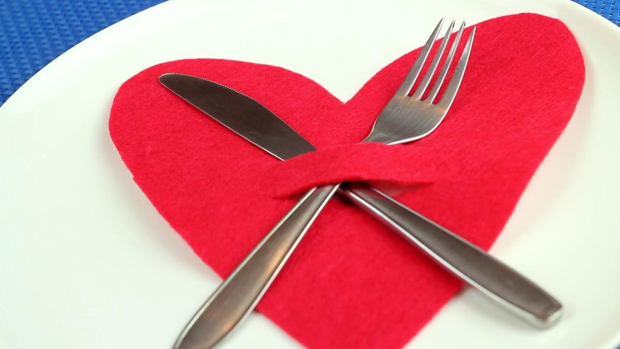 Cómo hacer una decoración especial para la mesa de San Valentín ...