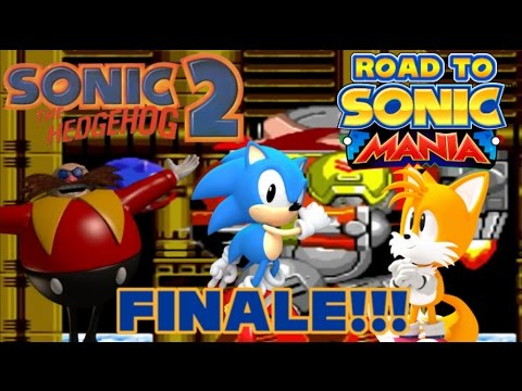 Scrambled Death Egg Robot Road To Sonic Mania Sonic The Hedgehog 2 100 Finale Youtube