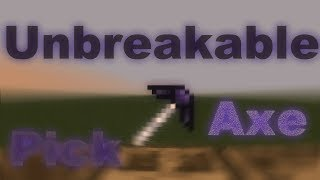 Tinkers Construct | Unbreakable Pickaxe