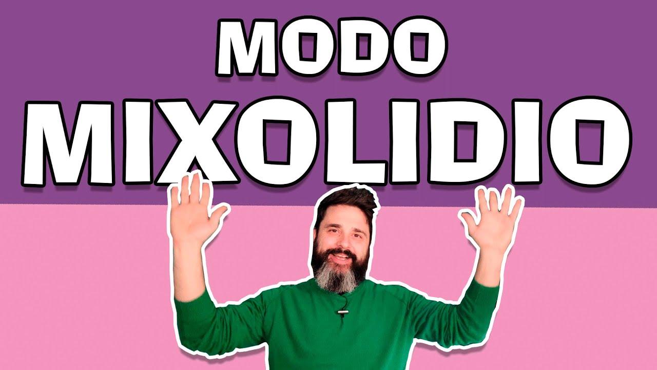 Modo mixolidio explicación para todos los instrumentos (teoría musica)