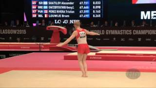 KRANZLMUELLER Lukas (AUT) - 2015 Artistic Worlds - Qualifications Floor Exercise