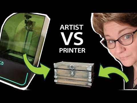 Artist VERSUS 3D Printer: Making a Miniature Treasure Chest