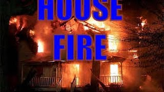 House fire 497 High St Chillicothe Ohio 5/23/16