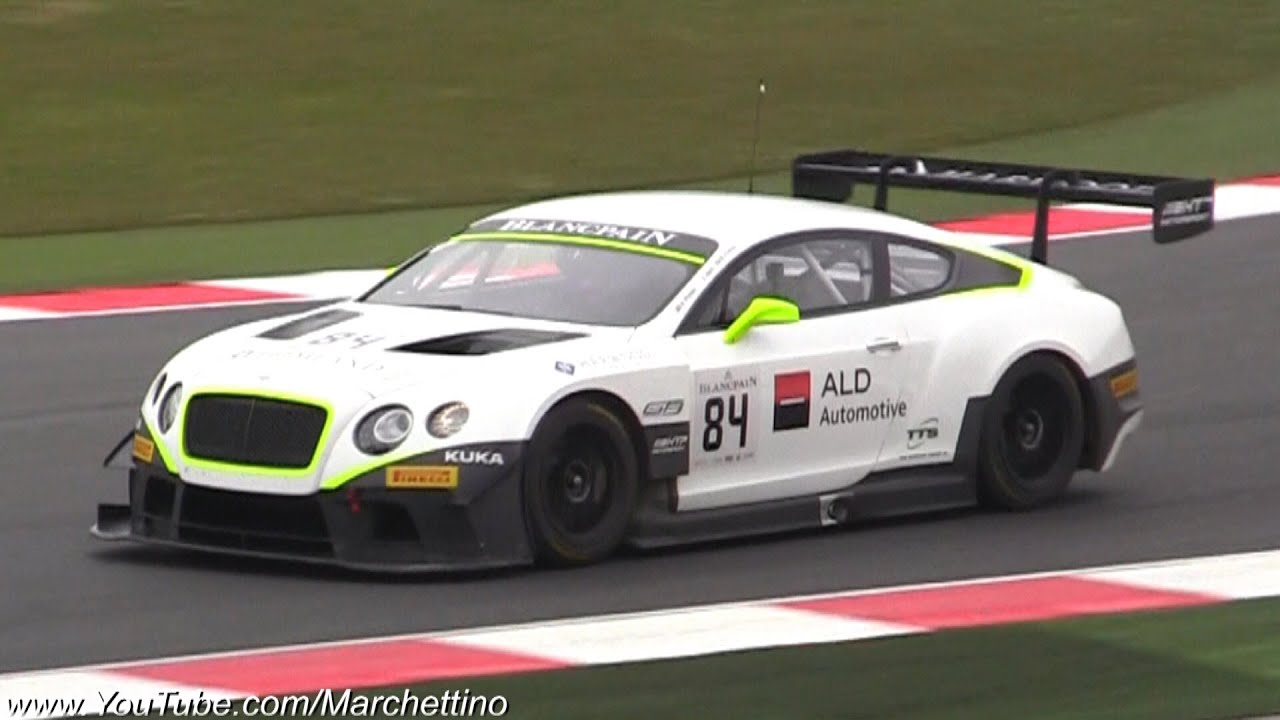 Bentley Continental Gt3 Amazing Sound Epic Racecar