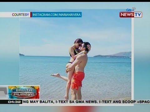 BP: Marian at Dingdong, nagdiwang ng valentine's day sa beach - 동영상