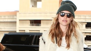 Supermodel Behati Prinsloo Cool And Casual At LAX