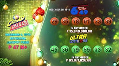 [LIVE] PCSO 9:00 PM Lotto Draw - December 8, 2019