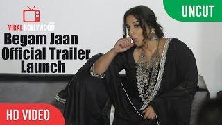 Begum Jaan Official Trailer Launch | Vidya Balan | Srijit Mukherji | Viralbollywood