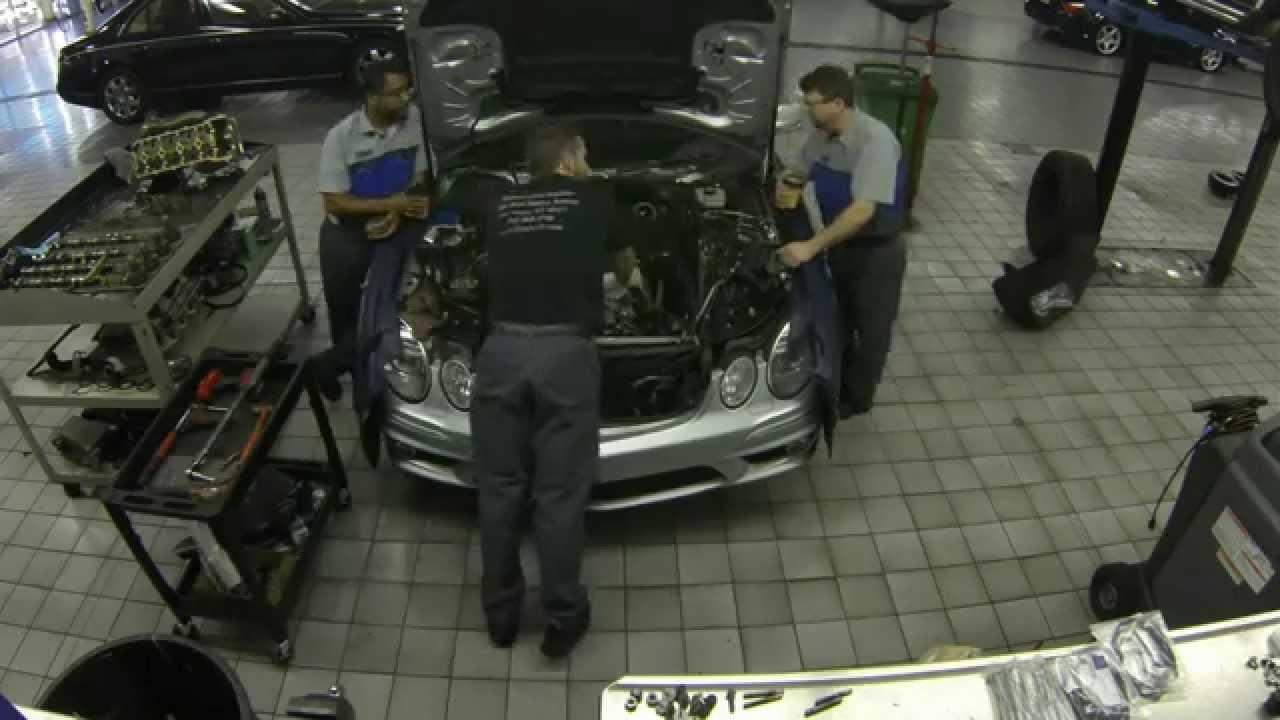 Remove Broken Bolt >> 156 head gasket replacement - YouTube
