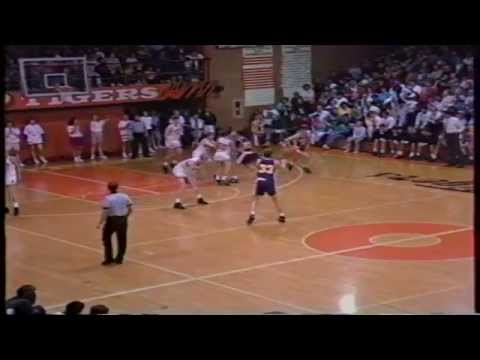 Grand Island at Hastings. 1992. Nebraska High School Basketball.