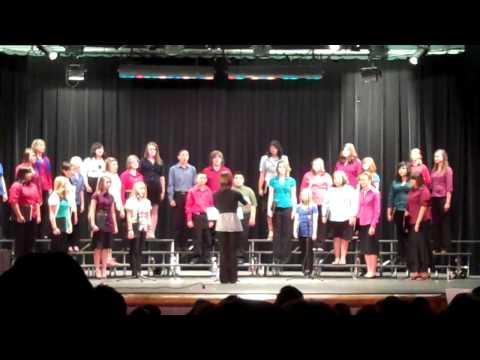 MMS Advanced Choir- All Night All Day