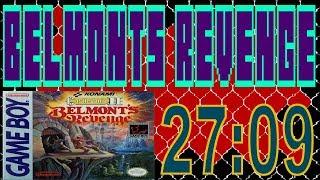 Castlevania II: Belmont's Revenge Any% Speedrun 27:09 [NTSC/PAL]