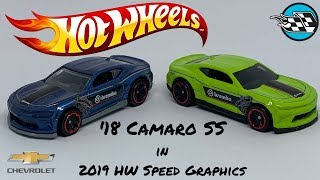 '18 Camaro SS from Hot Wheels Speed Graphics Series 2019.