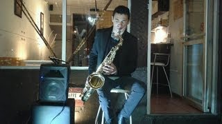 I need your love ft Ellie Goulding- Calvin Harris (Sax Cover Dave Llaguno)