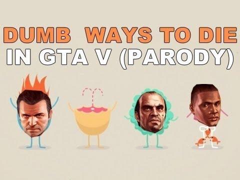 (Brysi) DUMB WAYS TO DIE IN GTA V (1-Hour Loop)