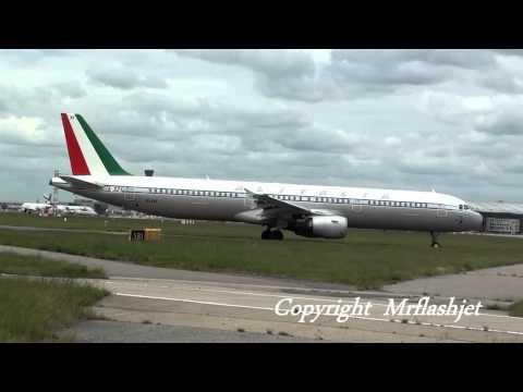 Alitalia Super Retro-Jet A321 {EI-IXI} at London Heathrow Airport