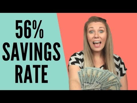 How We Save More Than 56% Of Our Income - Financial Independence