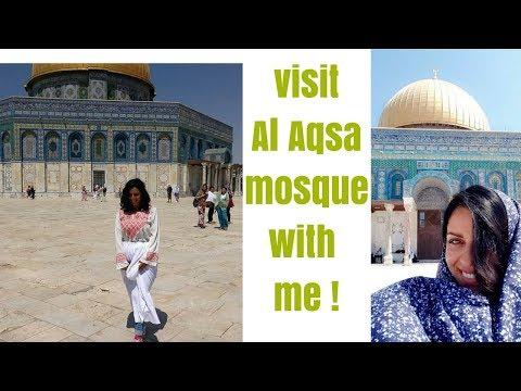 Visit AL-AQSA Mosque with me!! - Jerusalem 2013