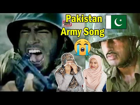 Pakistan Army Song   O Meray Yaar, To Mera Pyar   Malaysian Girl Reaction