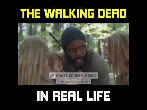 The Walking Dead Real Life Parody Youtube